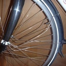 DIY eyelet for bicycle forks