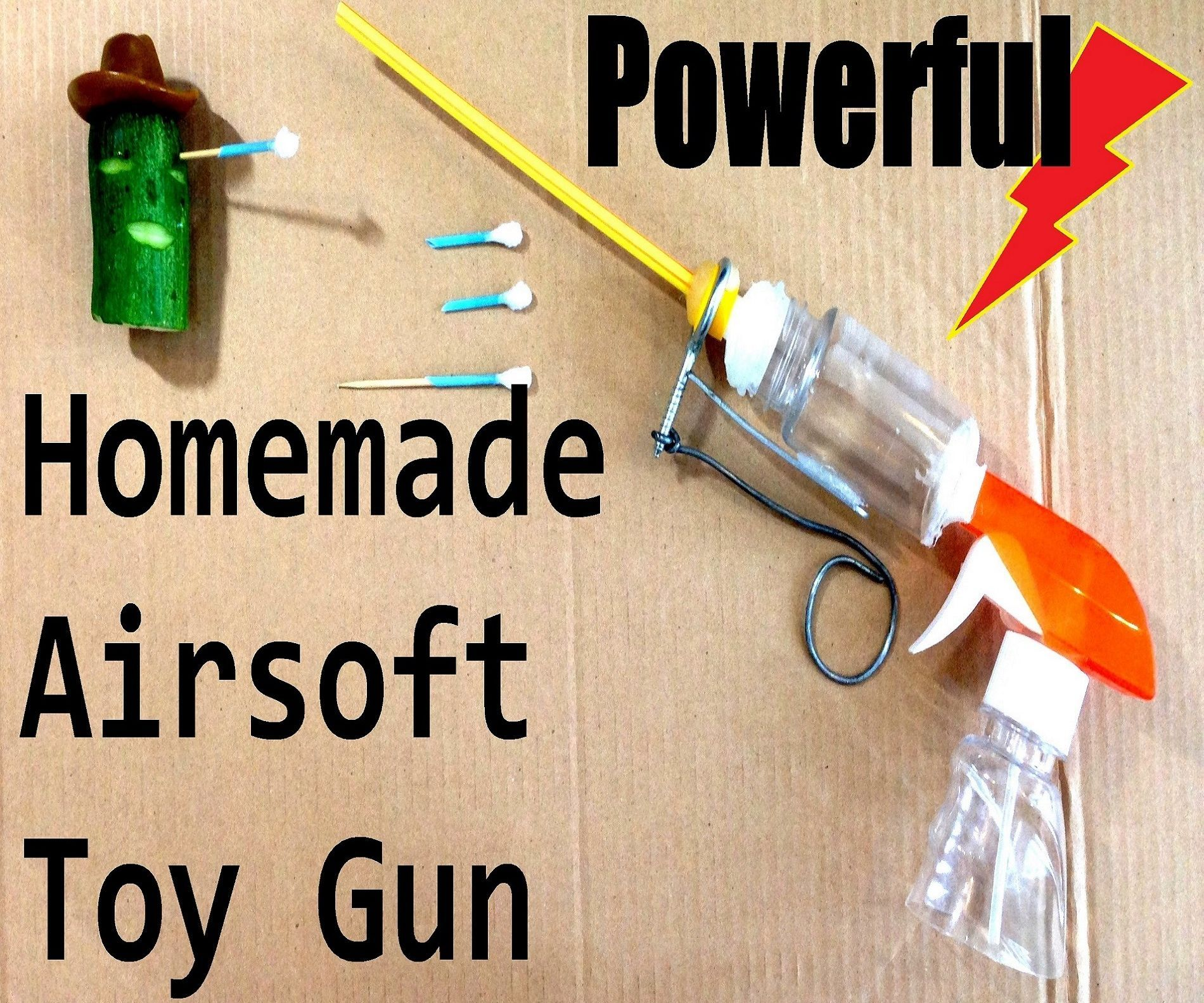 Killer Homemade Airsoft Guns