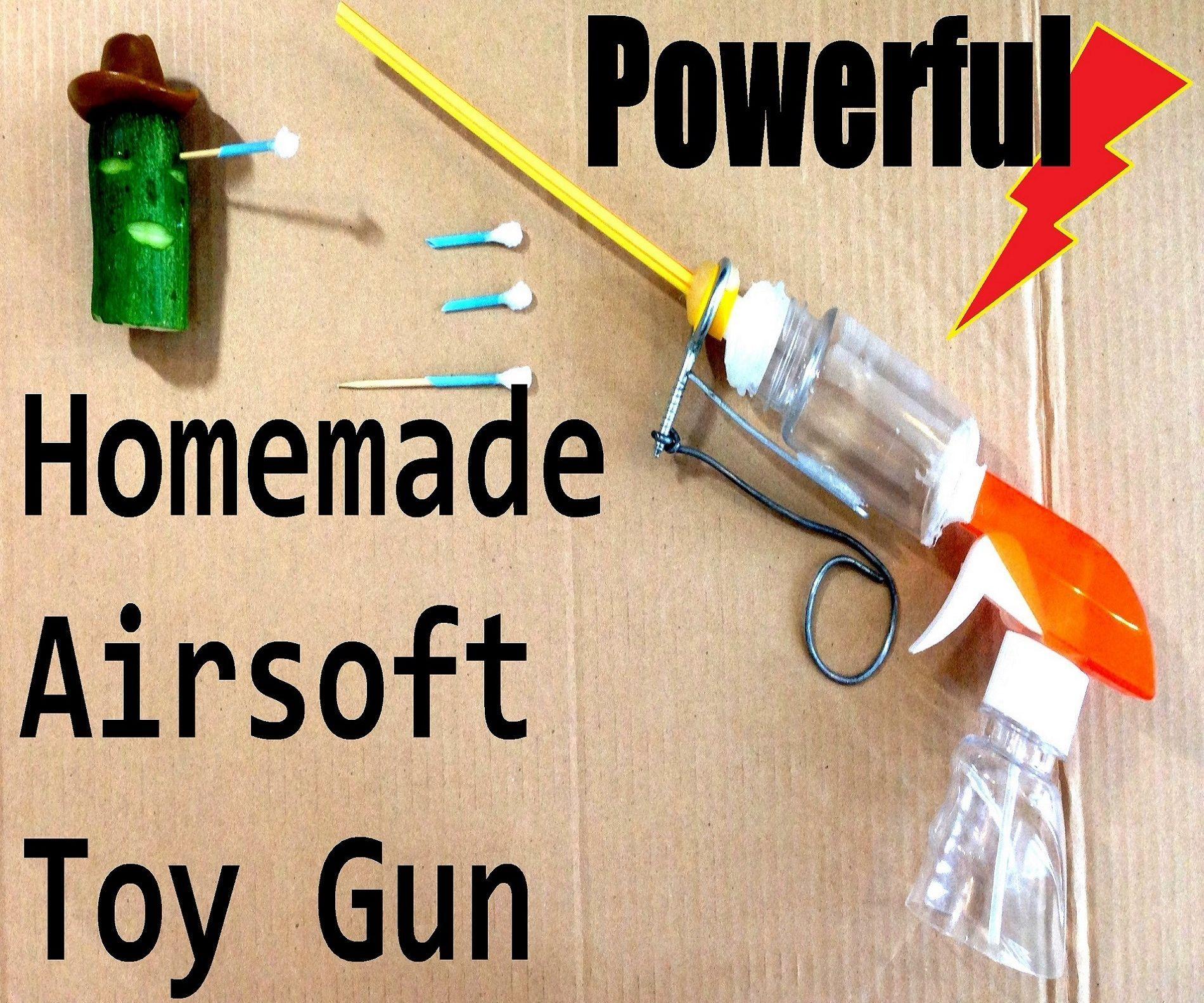 Killer Homemade Airsoft Guns