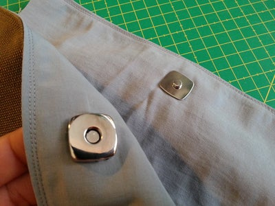 How to Add a Magnetic Snap to Your Sewing Project