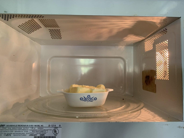 Soften the Butter