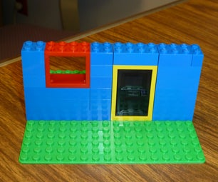 Building the Front of a Lego House