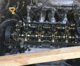 Replacing Valve Cover Gasket & Spark Plug Seals 1997 Toyota Corolla