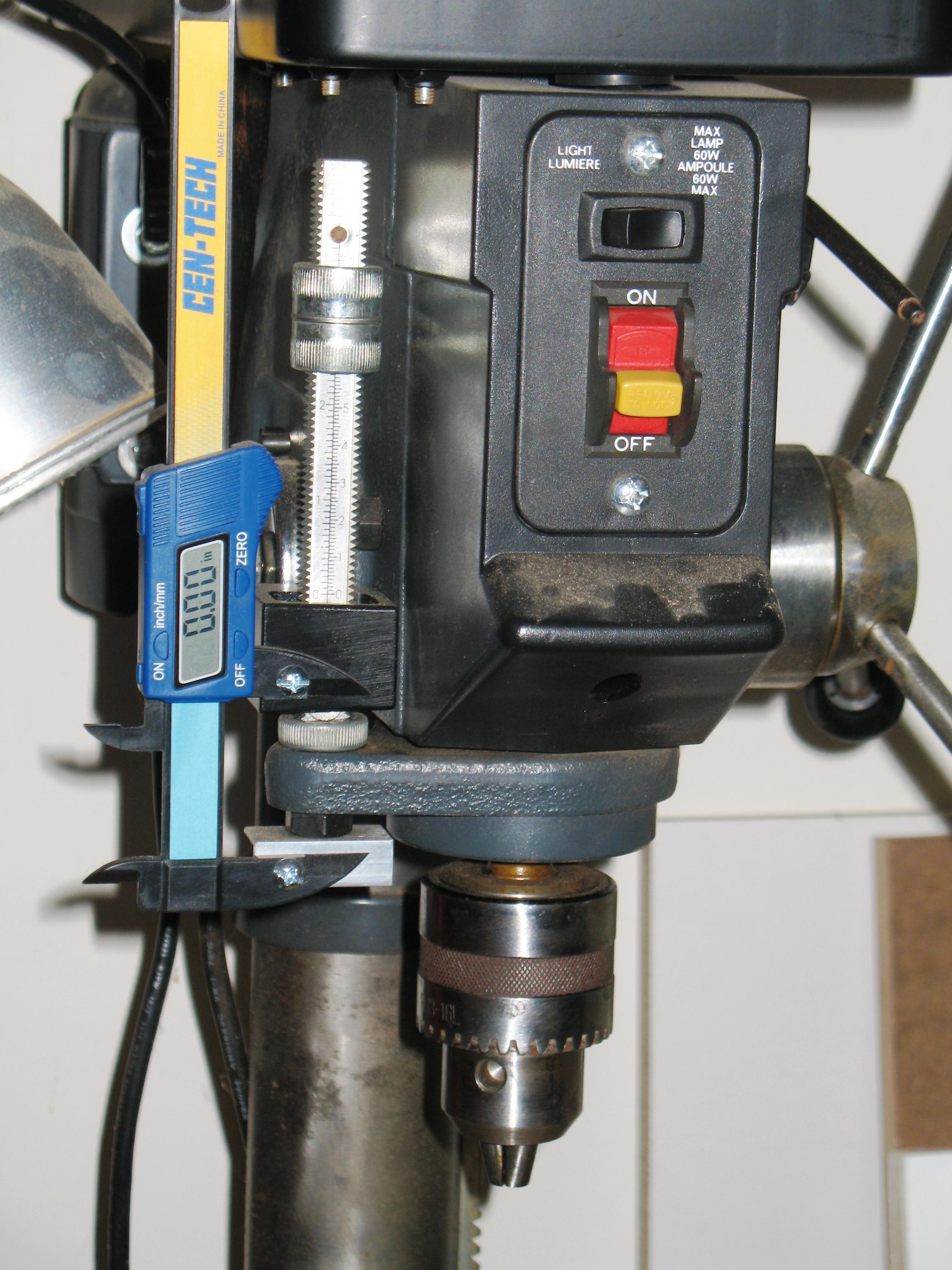 Accurized Craftsman Drill-Press