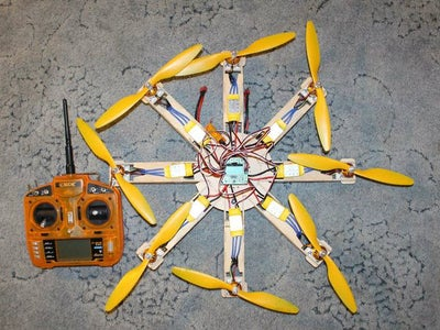 Modular Multicopter, Quads, Hex, Oct, Y4, Y6, OCT X4, Up to 16 Motors!