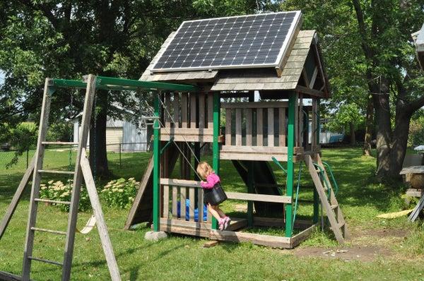 Solar Swing-Set (PV Playhouse)