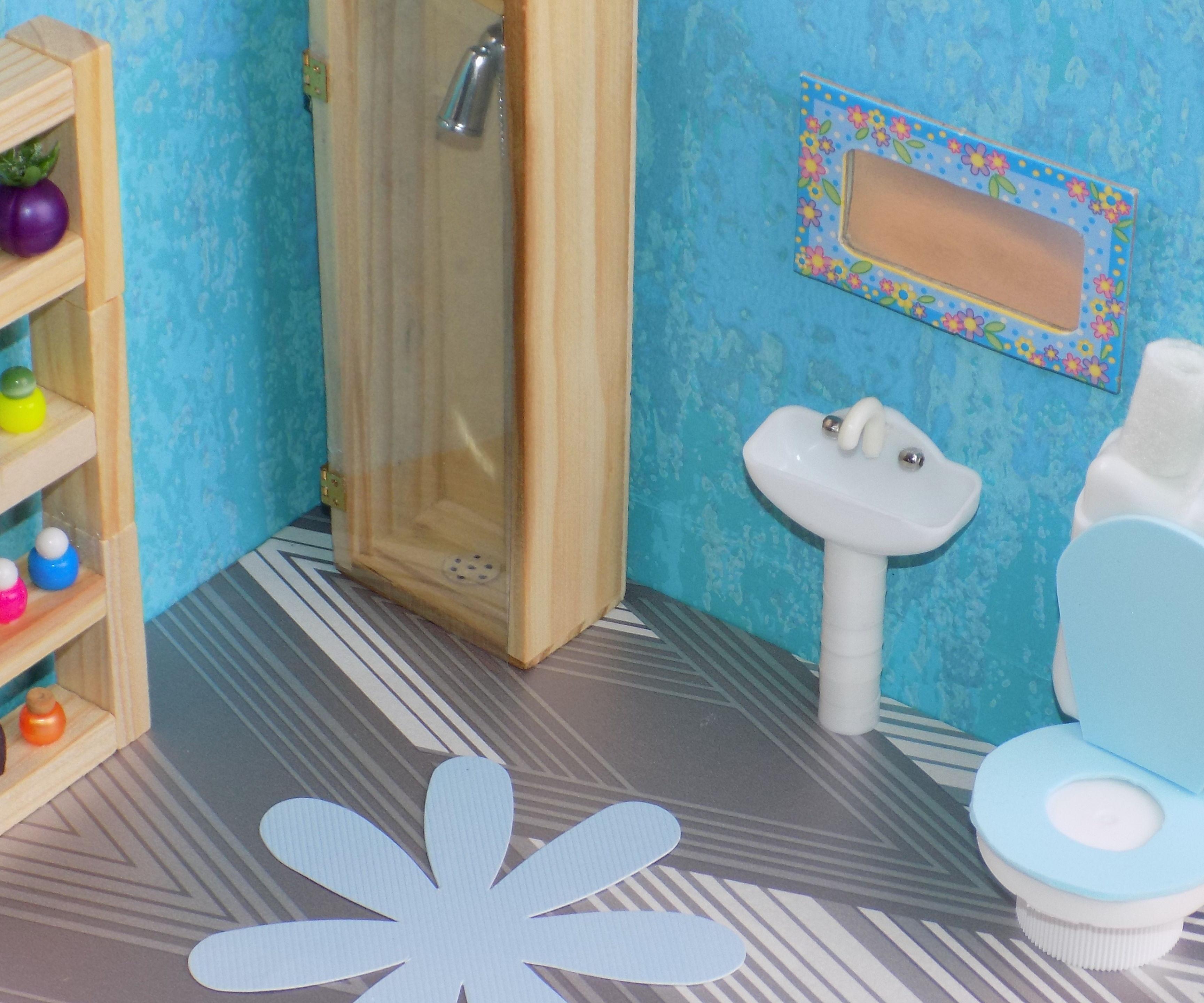 diy miniature bathroom
