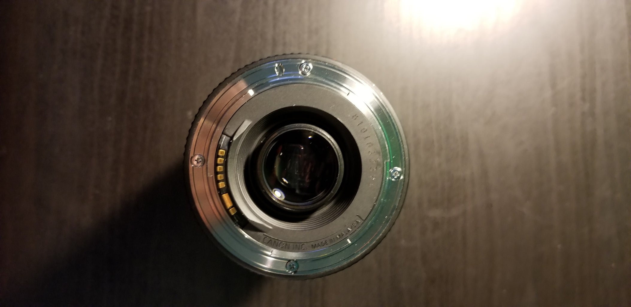 Place the Lens Over the Camera