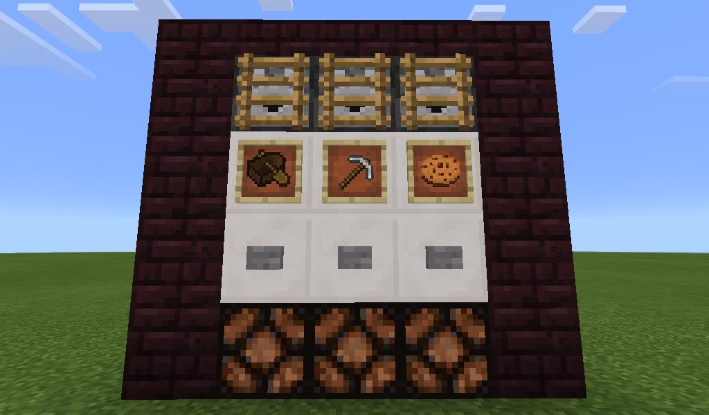 Minecraft Item Dispenser (Hi-Tech)