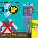 Fingerprint and OTP Authentication for ATM Machine