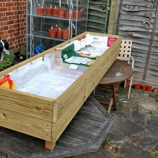 Make a Garden Planter From Decking