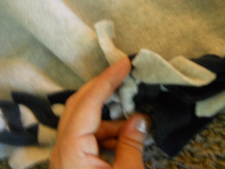 Finishing the Blanket