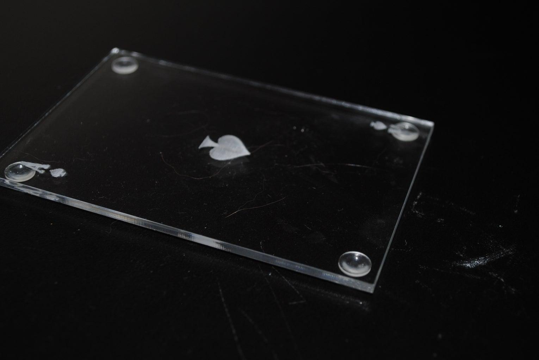 Acrylic Ace of Spade Coasters: I Made It at TechShop