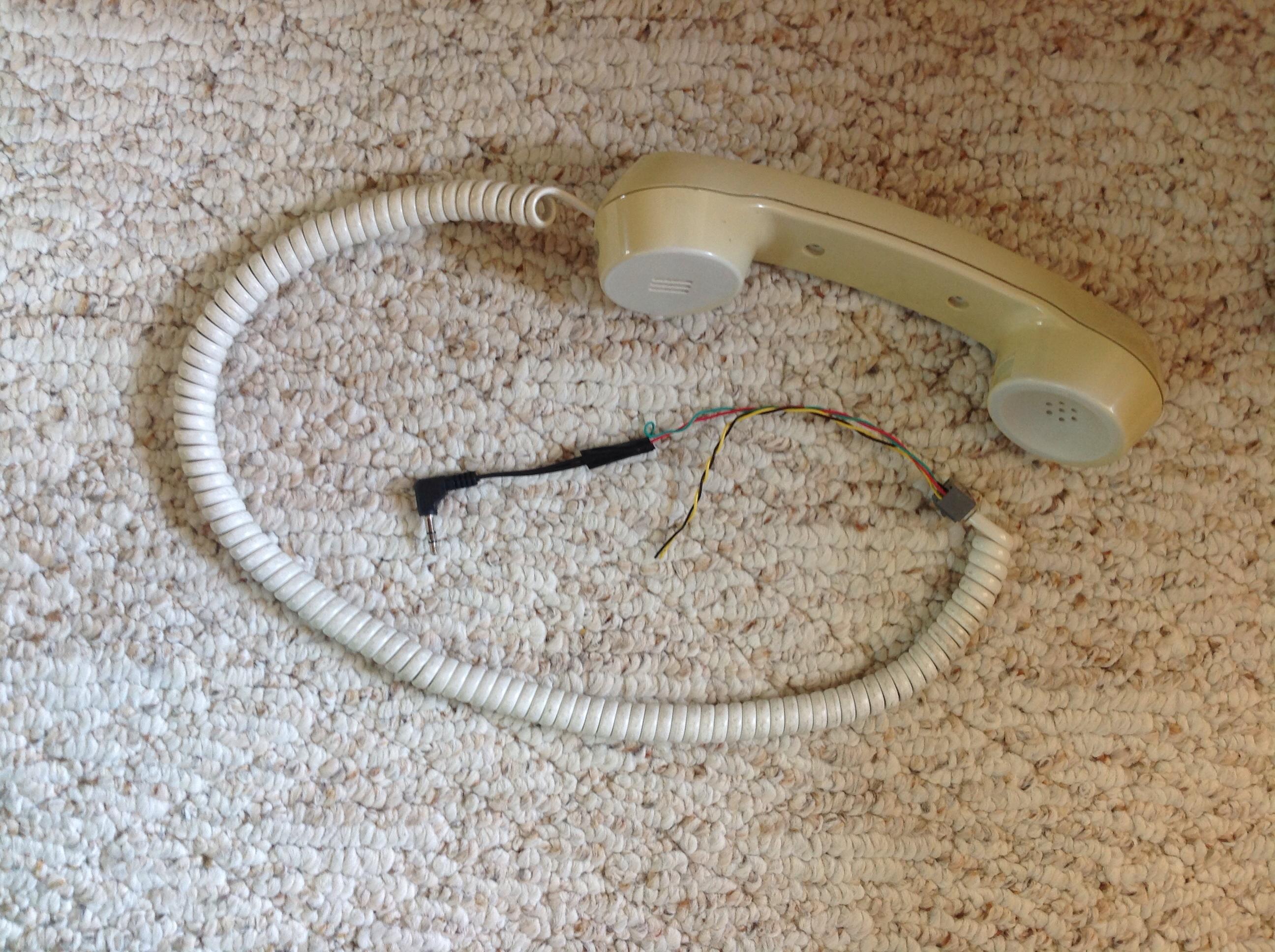 Headphone phone