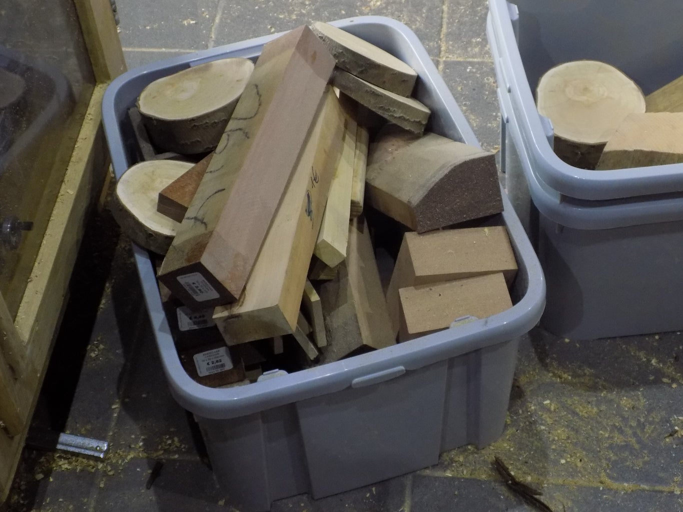 Find Some Nice Wood and Make the First Shapes