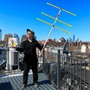 Tape Measure Yagi Antenna With 3D Printed Couplers