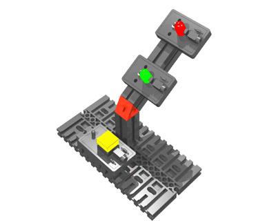 fischertechnik LED Reaction Time Game