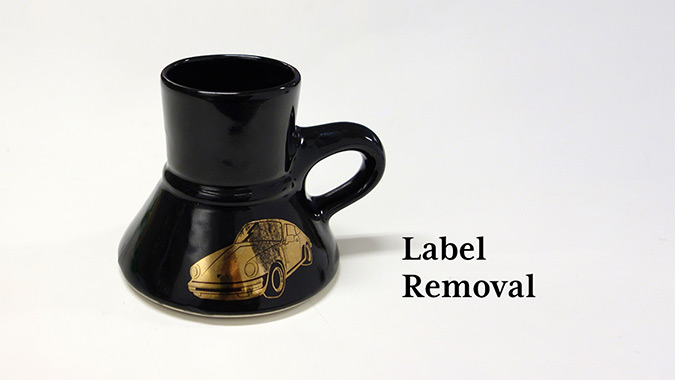 Label Removal (the easy way)