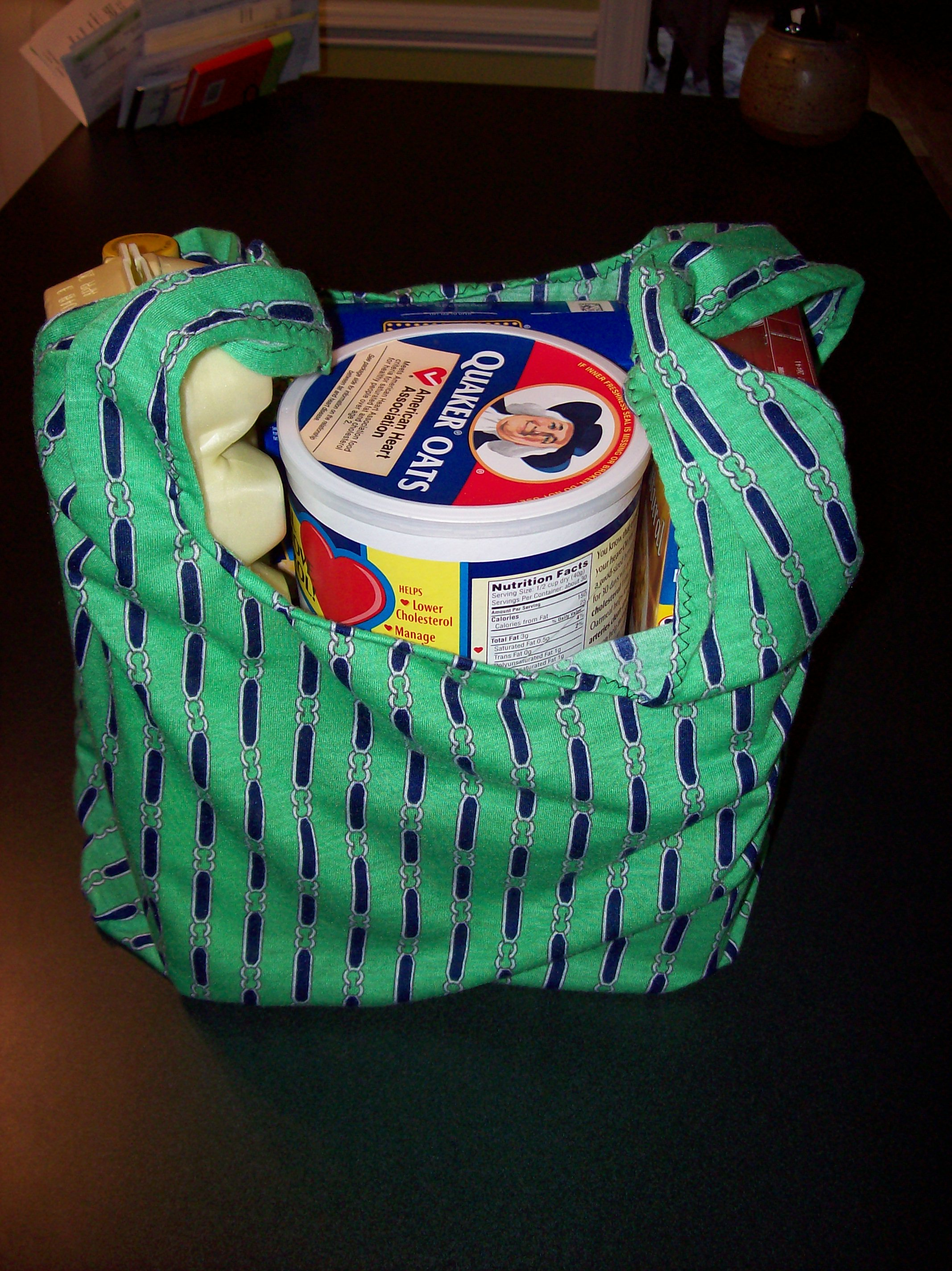 """""""Green"""" Re-usable Grocery Bags"""