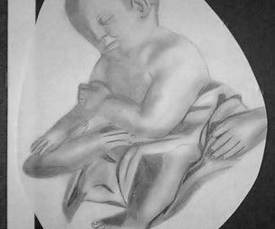 My Baby Jesus Christ Drawing