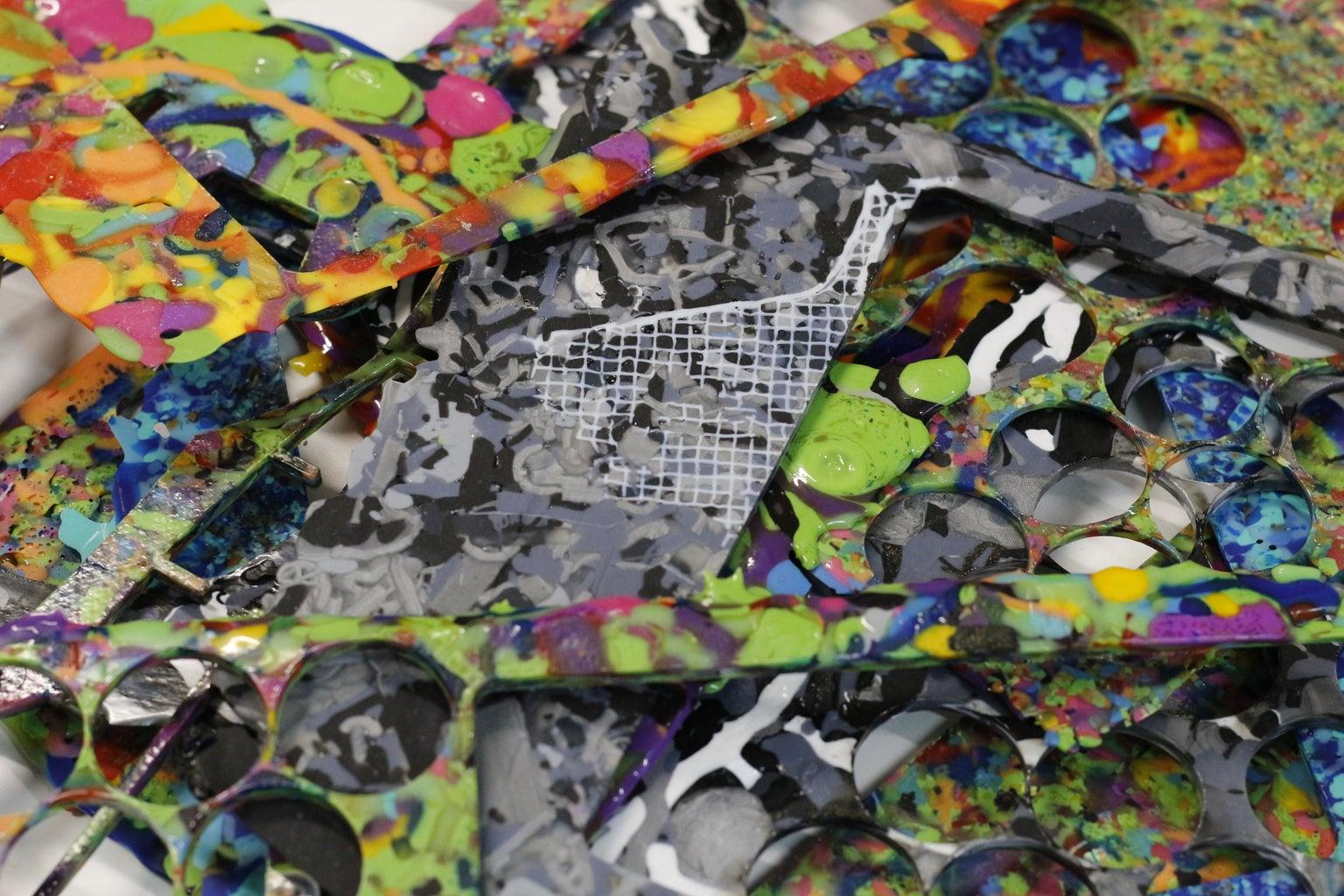 Shredding Plastic