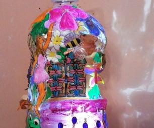 Plastic Bottle Multipurpose Hanging Decoration