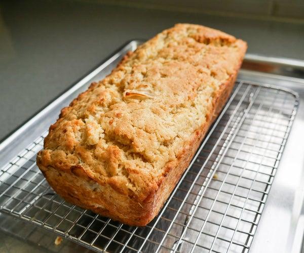 Lemon Pulp Rosemary Bread