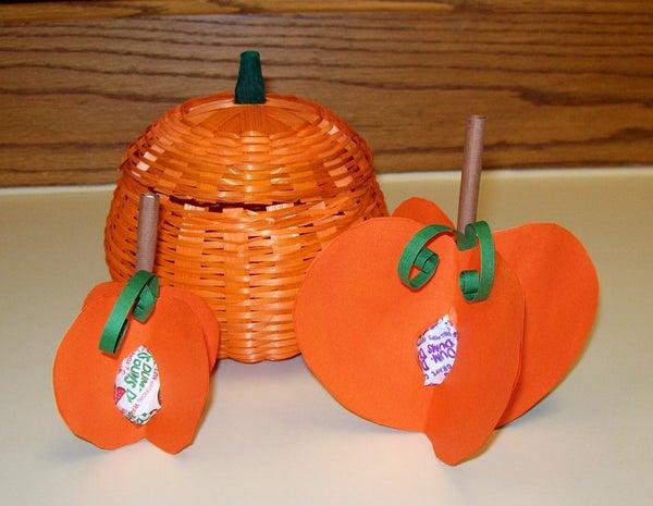 Fall Crafts: Pumpkin Crafts