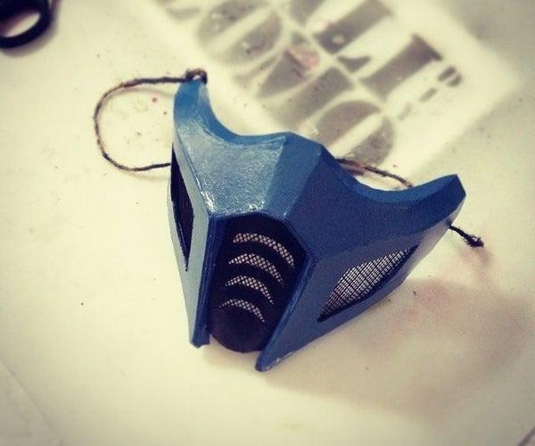 Mortal Kombat SubZero/Saibot Mask - Cardboard DIY