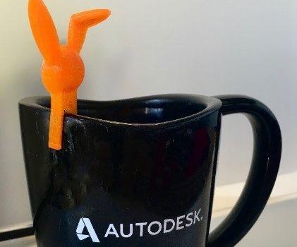 3D Printed Coffee Cup Animal