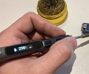 Power Your Soldering Iron With a Drill Battery!