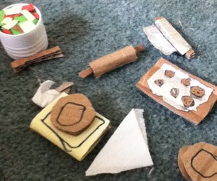 Doll Kitchen Stuff
