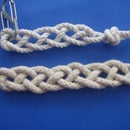 Single Cord 4 Strand Flat Braid