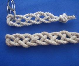 Single Cord 4 Strand Flat Braid