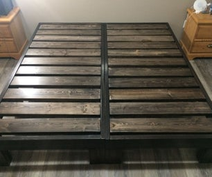 Heavy Duty King Bed Frame