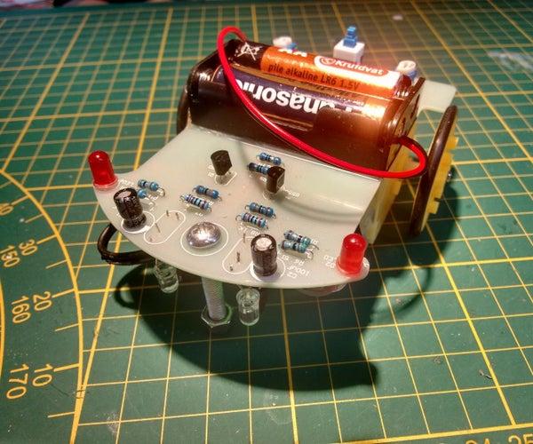 Upgrade Analog Line Follower to Arduino With Attiny85