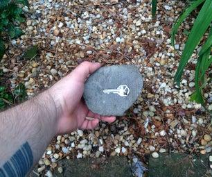 Custom Fake Rock Key Holder