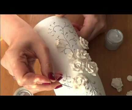 How to decorate a wedding champagne Part 2