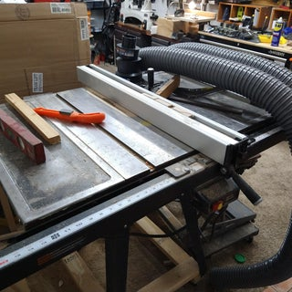 Retrofitting a Delta T2 Fence to a Craftsman Table Saw