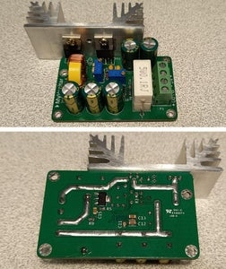 Figure 5  Assembled PCB Board (top and Bottom View)