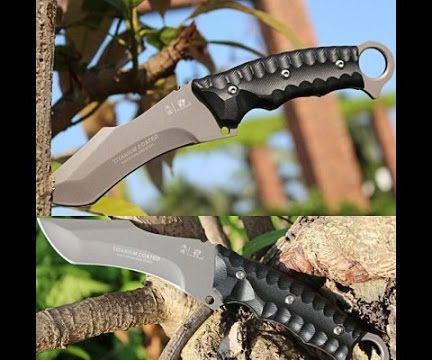 Using the HX Outdoors D-121 Survival Knife