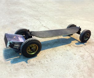 Electric Mountain Skateboard