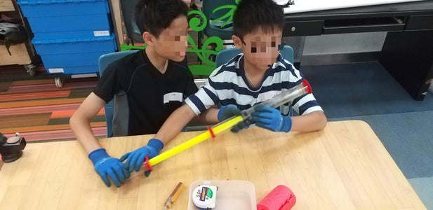 Workshop With Kids 跟孩子一齊造