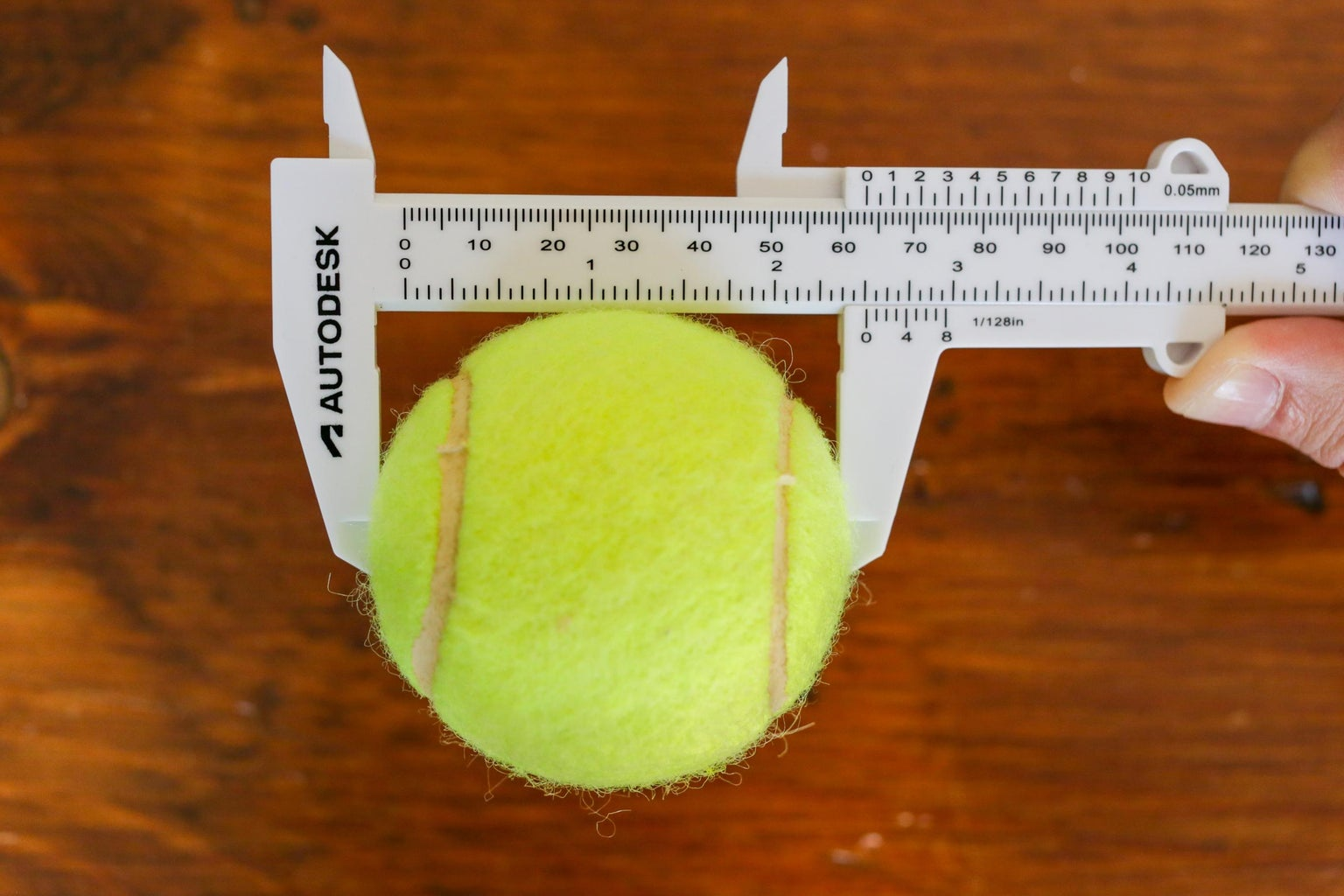Measuring Outer Dimensions of a Round Object