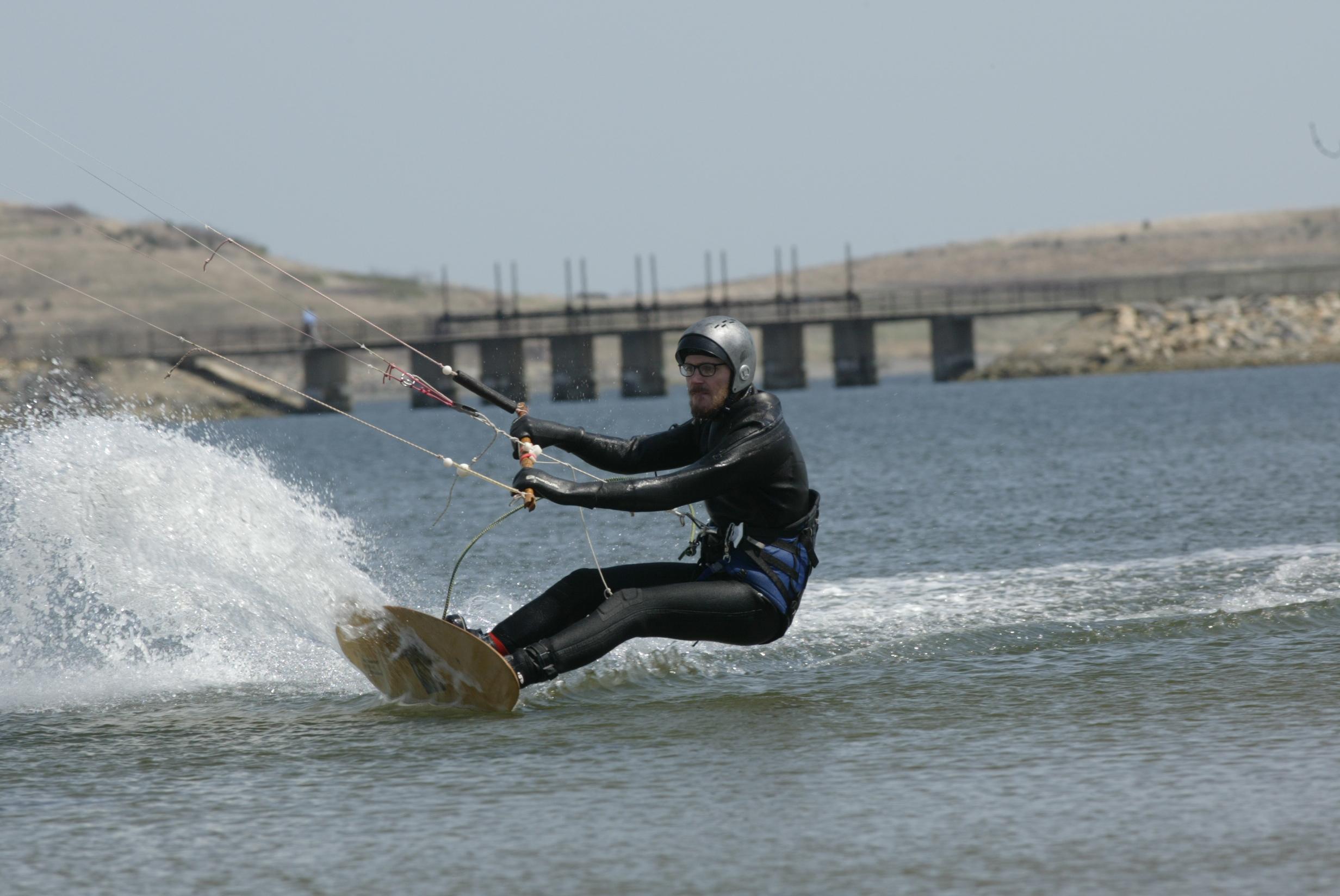 Plywood kiteboard