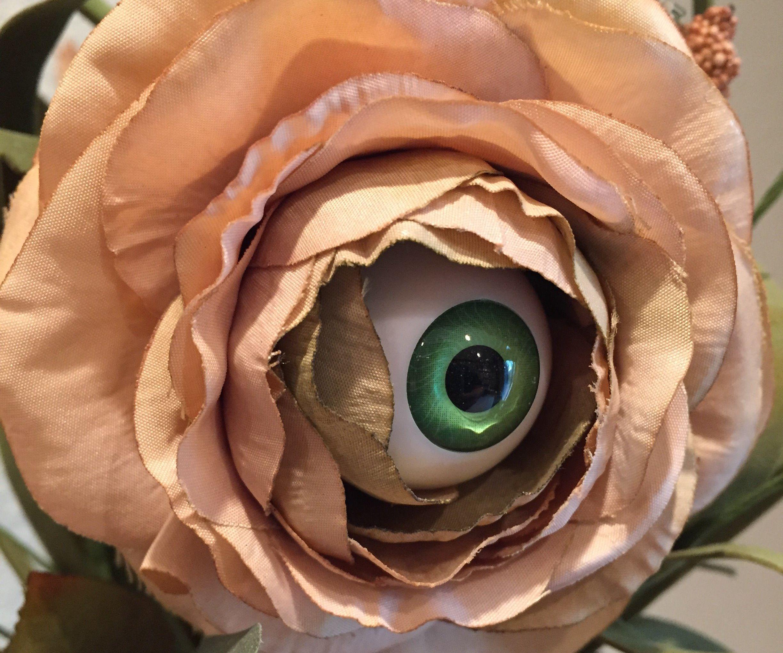 Make Your Own Creepy Eyeball Flower Arrangement