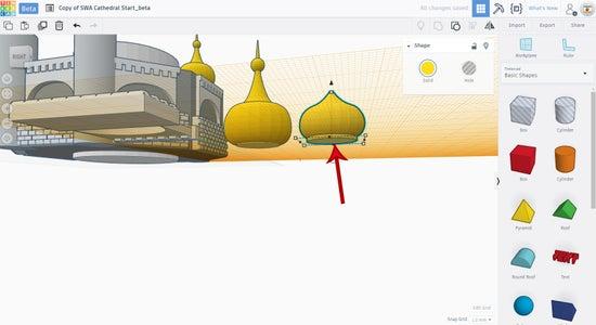 Copy the Small Dome
