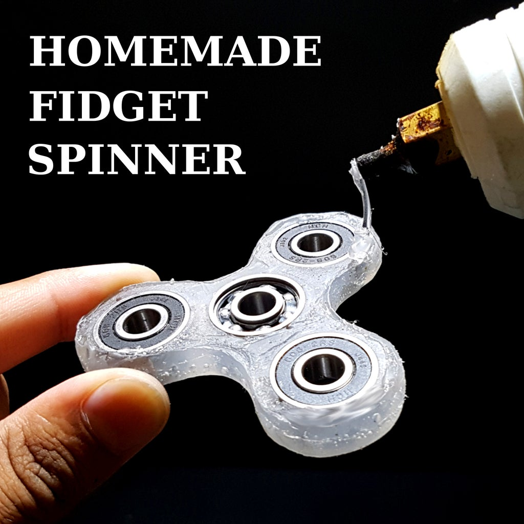How to Make a Fidget Hand Spinner