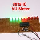 VU Meter Using 3915 IC