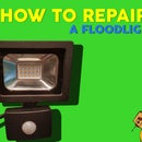 How to Repair a Burned LED Floodlight